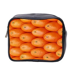 Orange Fruit Mini Toiletries Bag 2-Side