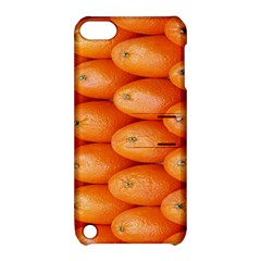 Orange Fruit Apple iPod Touch 5 Hardshell Case with Stand