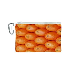 Orange Fruit Canvas Cosmetic Bag (S)