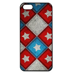 Star Color Apple iPhone 5 Seamless Case (Black)