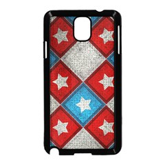 Star Color Samsung Galaxy Note 3 Neo Hardshell Case (Black)