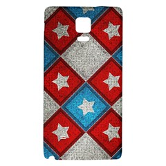 Star Color Galaxy Note 4 Back Case