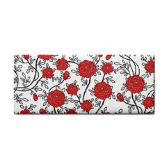 Texture Roses Flowers Cosmetic Storage Cases