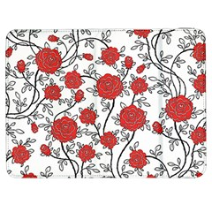 Texture Roses Flowers Samsung Galaxy Tab 7  P1000 Flip Case