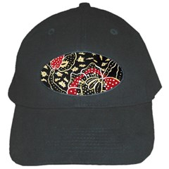 Art Batik Pattern Black Cap