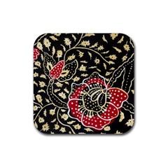 Art Batik Pattern Rubber Coaster (Square)