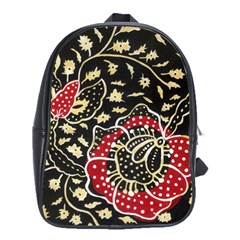 Art Batik Pattern School Bags(Large)