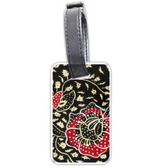 Art Batik Pattern Luggage Tags (Two Sides)