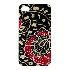Art Batik Pattern Apple iPhone 4/4S Premium Hardshell Case