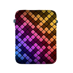 Abstract Small Block Pattern Apple iPad 2/3/4 Protective Soft Cases