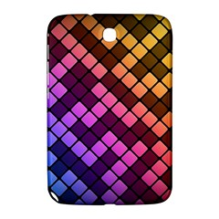 Abstract Small Block Pattern Samsung Galaxy Note 8.0 N5100 Hardshell Case