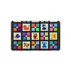 Animal Party Pattern Magnet (Name Card)