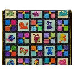 Animal Party Pattern Cosmetic Bag (XXXL)