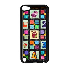 Animal Party Pattern Apple iPod Touch 5 Case (Black)