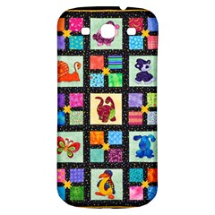 Animal Party Pattern Samsung Galaxy S3 S III Classic Hardshell Back Case