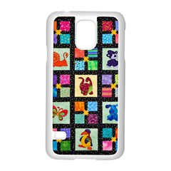 Animal Party Pattern Samsung Galaxy S5 Case (White)