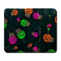 Abstract Bug Insect Pattern Large Mousepads