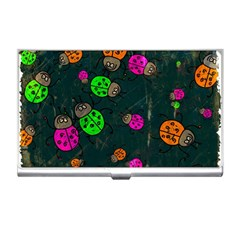 Abstract Bug Insect Pattern Business Card Holders