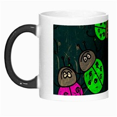 Abstract Bug Insect Pattern Morph Mugs