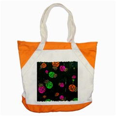 Abstract Bug Insect Pattern Accent Tote Bag