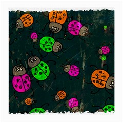 Abstract Bug Insect Pattern Medium Glasses Cloth (2-Side)