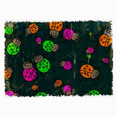Abstract Bug Insect Pattern Large Glasses Cloth (2-Side)
