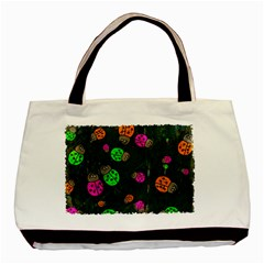 Abstract Bug Insect Pattern Basic Tote Bag (Two Sides)
