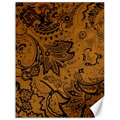 Art Traditional Batik Flower Pattern Canvas 18  x 24