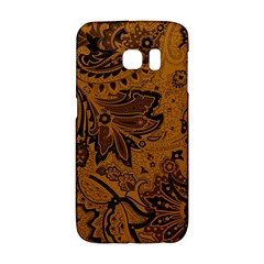 Art Traditional Batik Flower Pattern Galaxy S6 Edge