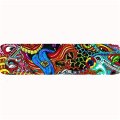 Art Color Dark Detail Monsters Psychedelic Large Bar Mats