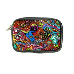 Art Color Dark Detail Monsters Psychedelic Coin Purse