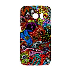 Art Color Dark Detail Monsters Psychedelic Galaxy S6 Edge
