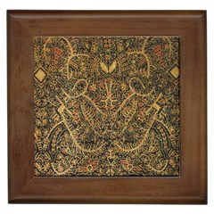 Art Indonesian Batik Framed Tiles