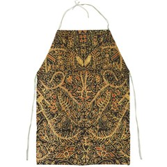 Art Indonesian Batik Full Print Aprons