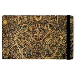 Art Indonesian Batik Apple iPad 3/4 Flip Case