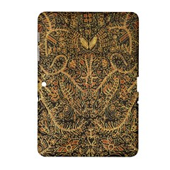Art Indonesian Batik Samsung Galaxy Tab 2 (10.1 ) P5100 Hardshell Case