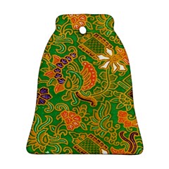 Art Batik The Traditional Fabric Bell Ornament (Two Sides)