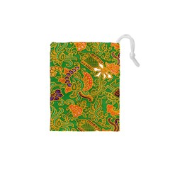 Art Batik The Traditional Fabric Drawstring Pouches (XS)