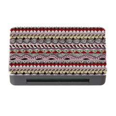 Aztec Pattern Art Memory Card Reader with CF