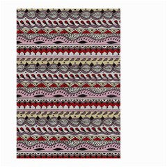 Aztec Pattern Art Small Garden Flag (Two Sides)