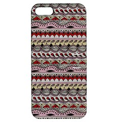 Aztec Pattern Art Apple iPhone 5 Hardshell Case with Stand