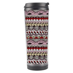 Aztec Pattern Art Travel Tumbler