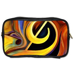 Art Oil Picture Music Nota Toiletries Bags