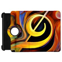 Art Oil Picture Music Nota Kindle Fire HD 7