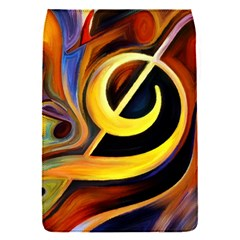 Art Oil Picture Music Nota Flap Covers (S)