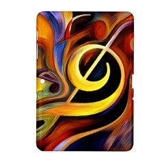 Art Oil Picture Music Nota Samsung Galaxy Tab 2 (10.1 ) P5100 Hardshell Case