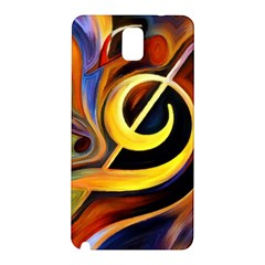 Art Oil Picture Music Nota Samsung Galaxy Note 3 N9005 Hardshell Back Case