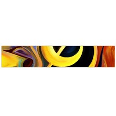 Art Oil Picture Music Nota Flano Scarf (Large)