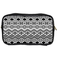 Aztec Design Pattern Toiletries Bags 2-Side