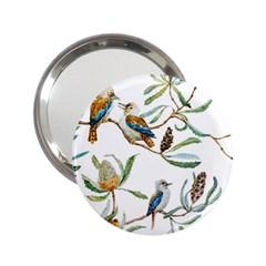 Australian Kookaburra Bird Pattern 2.25  Handbag Mirrors